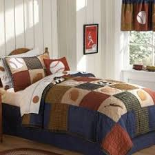Sports Comforter Sets Twin Pem America All State Boys Quilt With Pillow Sham More Boys And
