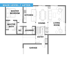 Mid Century Floor Plans A Midcentury Modern Revival For A 1960s Home Midwest Home Magazine