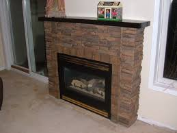faux stone fireplace mantel binhminh decoration