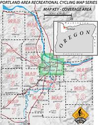 map of ta area portland area recreational cycling maps recreational bicycling