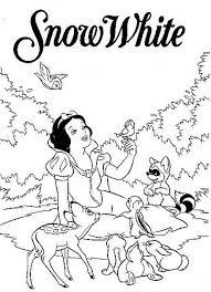 coloring pages snow white printable 2208 disney princess