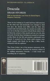 dracula wordsworth classics bram stoker 9781853260865 amazon