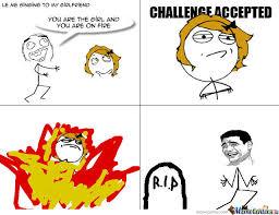 Fire Girl Meme - girl on fire by matej2504 meme center