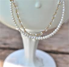 little pearl bracelet genuine rock crystal child children