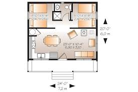 cabin layout plans cabin style house plan 2 beds 1 00 baths 480 sq ft plan 23 2290