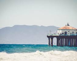 Home Decor Santa Monica Photography Santa Monica Beach Pier Photo Santa Monica