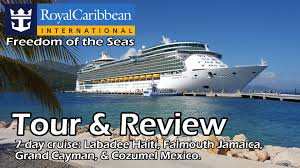 royal caribbean freedom of the seas tour u0026 review youtube