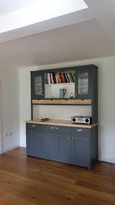 large kitchen dresser with maple worktop the edinburgh dresser
