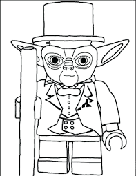 coloring pages printable lego man 3d printable lego man free