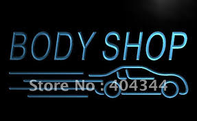 led lights for body shop lb821 body shop auto car display new led neon light sign home decor