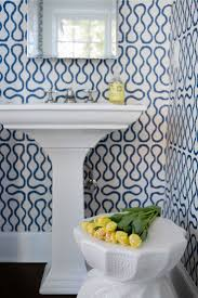 Wallpaper In Bathroom Ideas by 282 Best Powder Room Images On Pinterest Powder Rooms Beautiful