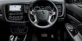 nissan outlander interior mitsubishi outlander interior practicality and infotainment carwow