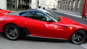 rosso corsa rosso corsa 599 gto in frankfurt sound