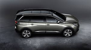 new peugeot peugeot unveils all new 5008 it u0027s a seven seat crossover