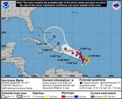 hurricane maria could make landfall in puerto rico as a category 4