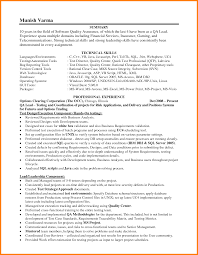 Quality Assurance Resume Samples by Trendy Inspiration Ideas Leadership Resume Examples 6 Resume