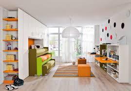 chambre enfant mixte chambre d enfant mixte orange start 120 clever