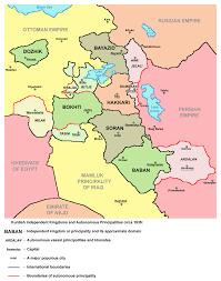 Kurdistan Map Kurdistan