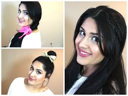 Simple N Easy Hairstyles by 4 Quick N U0027 Easy Spring Hairstyles Collaboration Youtube