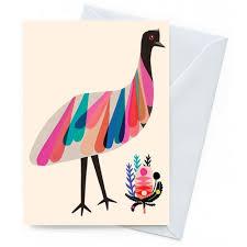 card kangaroo island emu