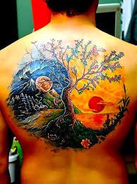 yin yang tree idea