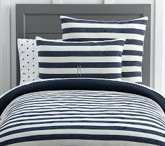Navy Stripe Comforter Set Navy Blue And White Twin Bedding Navy And White Bedding Twin Navy