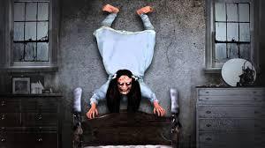 coat rack monster spirit halloween possessed wall hanger setup youtube