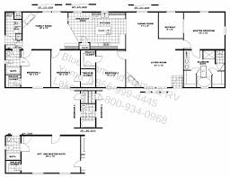 5 Bedroom Ranch House Plans House Plans With Two Master Also Bedrooms Bedroom Ranch