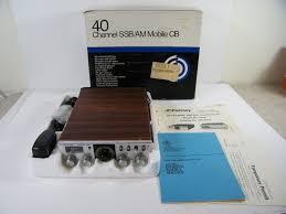 jc penny ssb 6246 40 channel ssb am cb radio transceiver in box