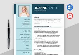 free modern resume templates for word modern resume template ms word maxresumes