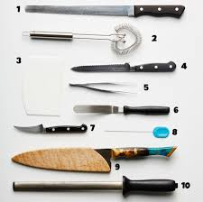 Used Kitchen Knives Stock Up On These 10 Essential Kitchen Tools Bon Appetit