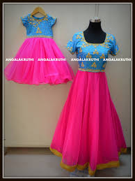 Kids Designs by Mom And Me Designs By Angalakruthi Ladies And Kids Boutique In