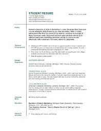 college grad resume template current college student resume template medicina bg info