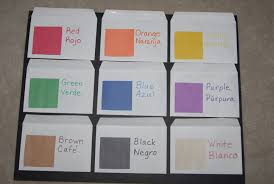 teaching colors to kids toddler activities kids craft projects