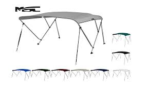 amazon black friday walking poles amazon com msc 3 bow bimini boat top cover with rear support