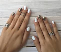 these 25 nail design ideas for short nails are classy cute and