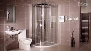1200 x 800 left hand offset quadrant shower enclosure youtube