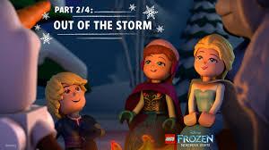 lego frozen northern lights 1 u2013 race lookout point