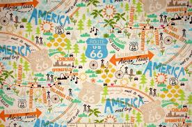 Route 66 Map by Sightseeing Places You Must See While You U0027re In The Us Life In
