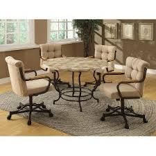 Kitchen Table With Caster Chairs Caster Dining Sets Dining Room Rc Willey