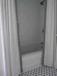 hazardous design shower curtain diy style