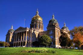 Iowa State Capitol by Counting Wins After A Brutally Challenging Legislative Session