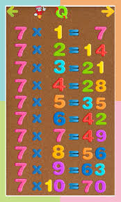 multiplication tables for children kids multiplication tables pro 1 apk download android education apps