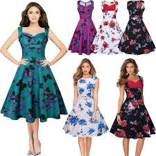 60s swing dress ebay