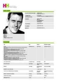 Sample Beginner Acting Resume by Actor Resume Template