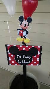 mickey mouse birthday yard sign