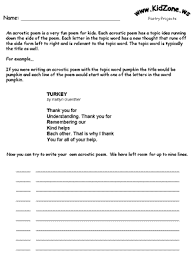 kidzone educational worksheets
