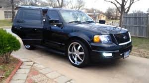 lexus expedition vehicle ford expedition on 24s and screens part 2 youtube
