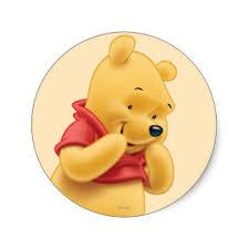 winnie pooh friends stickers zazzle