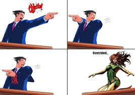 Phoenix Wright Meme - marvel vs phoenix wright 1 by red rum 18 on deviantart